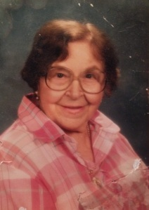This is my beloved grandmother, Kathryn, and exactly how I remember her when I think of her. I also realized tonight we both LOVE pink! I'm more like her than my mom - hands down.