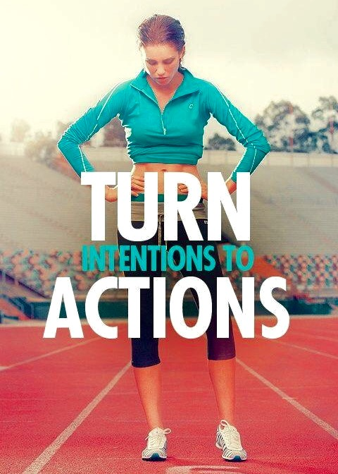 Intentions to Actions